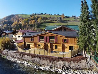Modern Chalet in Kaprun with Jacuzzi