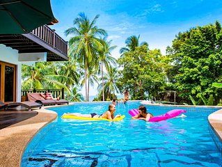 Luxury 4 Bedroom Private Villa & Pool. Child friendly. 500m from the Beach