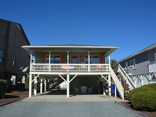 Ocean View!! Adorable, Second Row Single Family Home in Ocean Isle Beach