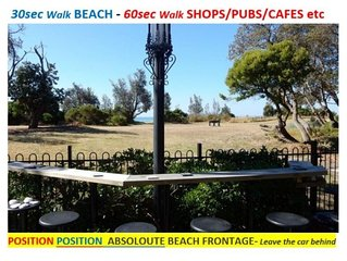930 On the Beach - 30metres Beach/Shops/Pub/Resturants-Leave car behind