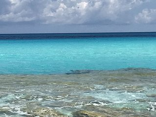 Steps to a private beach . . . Vacation in the Out Islands of the Bahamas