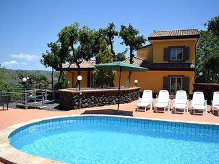 Charming Holiday Home in Piedimonte Etneo with Pool