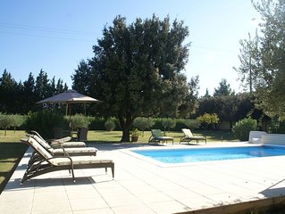 Cozy Villa in Sorgues with Swimming Pool