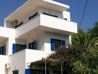 Detached villa in beautiful Agia Fotia Bay, few minutes from the sea