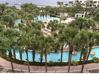 Beauty on the Bay, 5th floor, Lazy River view;  2Bd/2Ba plus bunkroom, sleeps 8