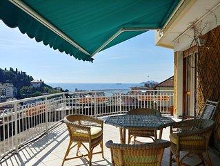 Il Mare in Terrazza con vista Portofino