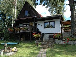 Cozy Cabin near Lake in Liberec Czech Republic