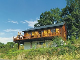 Beautiful chalet with panoramic views.