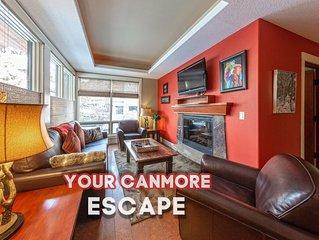 Canmore Pet-Friendly Corner Suite/ 5 Star Resort