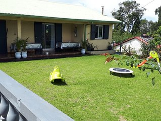 Villa idéal pour vacance en famille , wifi, BBQ avec  grande cour