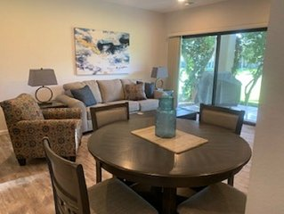 FURNISHED 1 BEDROOM, 2 FULL BATH CONDO WITH GOLF COURSE & MOUNTAIN VIEWS