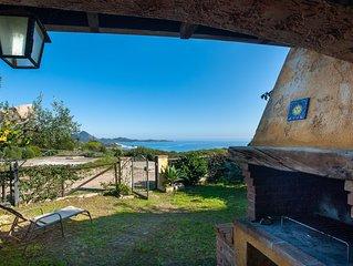 Villa con meravigliosa vista mare