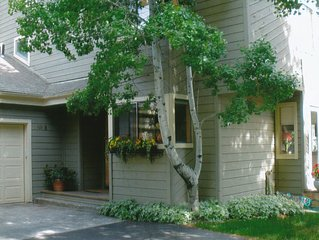 Preferred Location! Walk to Warm Springs Ski lifts, town, and trails.