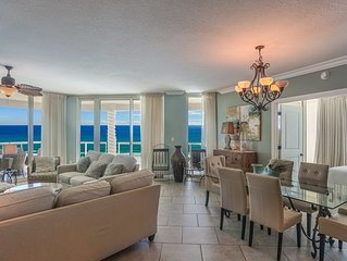 P3-1901 Elite Rated three Bedroom Gulf Front Skyhome  Direct Gulf Views!