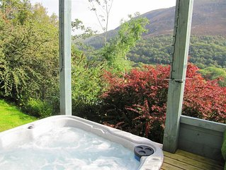 On an organic hill farm near Rhayader is The Granary a lovely renovated cottage