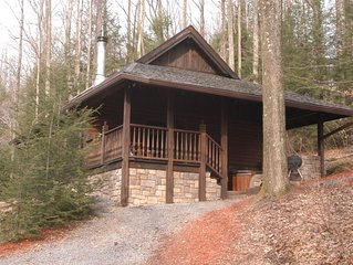 Mill Creek Cabins 7-Beautiful Secluded Luxury Cabins -Near The New River Gorge