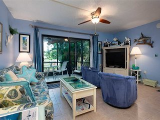 Cozy Waterfront Dock View 1 bedroom, 1 bath at Sanibel Moorings Resort #1441