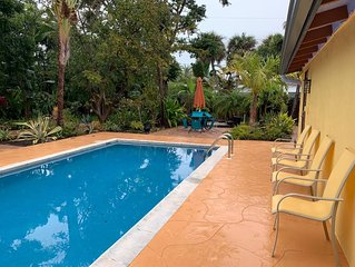 Serendipity On Boca Grande, Old Florida  3Bd,3Ba,Htd pool! Minutes To Everything