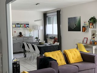 Appartement de charme à Royan, à proximité du port, des plages,et du marché .