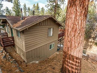 Cozy Treed Mountain Home~Full Kitchen~Fireplace~Central Heat~Great Decks~