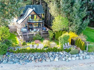 Waterfront Beach House with Garden Oasis!