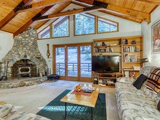 Peaceful home w/ a dry sauna & upgraded WiFi - near golf, skiing, & town