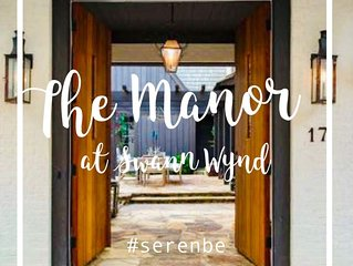 The Manor at Swann Wynd - A Serenbe Luxury Property (COVID-19 Sanitized)