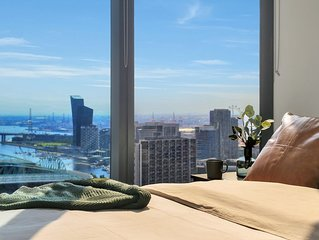 A Stylish Suite with a Gorgeous View of the Yarra