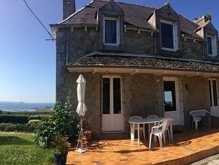 Gite de mer a Port Blanc ,vue mer, quartier calme