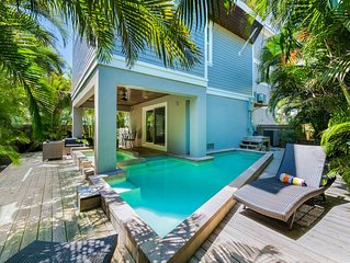 Amazing Luxury Beach House for Summer Vacation! Rooftop Deck, Pool and Spa!