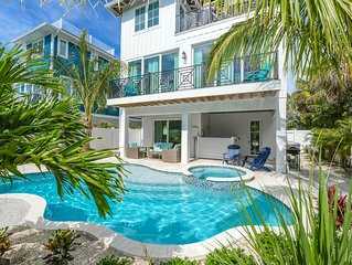 Visit AMI in Luxury! 5 bedroom home with pool and spa, AMAZING Rooftop Deck View