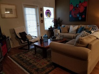 cozy apartment, clean and comfortable, use of pool and work out room