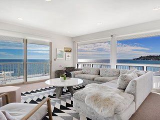 Malibu beachfront condo with private beach access and stunning ocean views