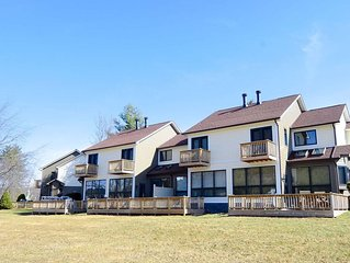 Life is good at Ski Harbor #32! You can't get better than the central location,