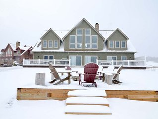 NEW! Lakefront Home with Dock Slip, Golf Access & Hot Tub!