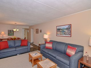 309B- Lakefront condominium w/ one bedroom with queen beds & fireplace!