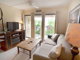 711H- Studio loft lakefront condominium w/ private balcony!