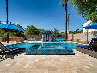 Luxury Estate Escape with Heated Pool 9BD/7BA Sleeps 16!