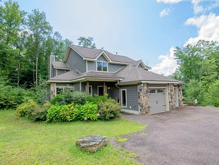 Lake Area Home w/Hot Tub, Fire Pit, Pool Table, & Gas Fireplace!
