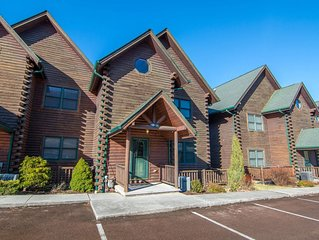 Lake Access Townhouse #16 w/Hot Tub, 2 Outdoor Fireplaces, & Game Tables!