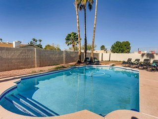 SWANKY in SCOTTSDALE *GOLF+FIRE PIT+HOT TUB* $PET FRIENDLY$