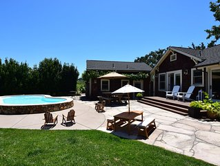 Kenwood Farmhouse - A Little Piece Of Heaven Amongst The Vineyards!  2 Bedrooms,