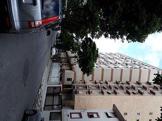 Apartamento em Santos conforto, ciclovia e maior jardim construído na orla praia
