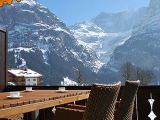 Ferienwohnung Grindelwald fur 2 Personen mit 1 Schlafzimmer - Ferienwohnung