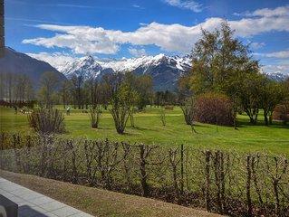 Appartement Golf & Glacier View - edles Wohnambiente, mit Golf- & Gletscherblick