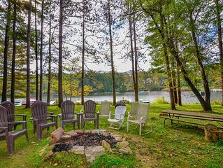 Lakefront Townhouse #08 w/Dock Slip, Wood Fireplace, & Community Fire Pit!
