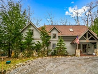 If you're looking to retreat to the privacy of the woods, Blue Spruce is perfec