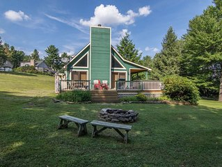 DOGS WELCOME! Lake Access Home w/Private Dock, Hot Tub, & Fire Pit!