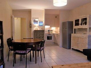 Appartement T3 proche océan, rez-de-chaussée terrasse et jardinet. Tout à pied !