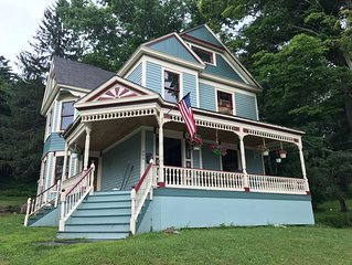 Big Beautiful Victorian near Lake Wallenpaupack in the Heart of Hawley Village